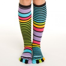 mismatching socks